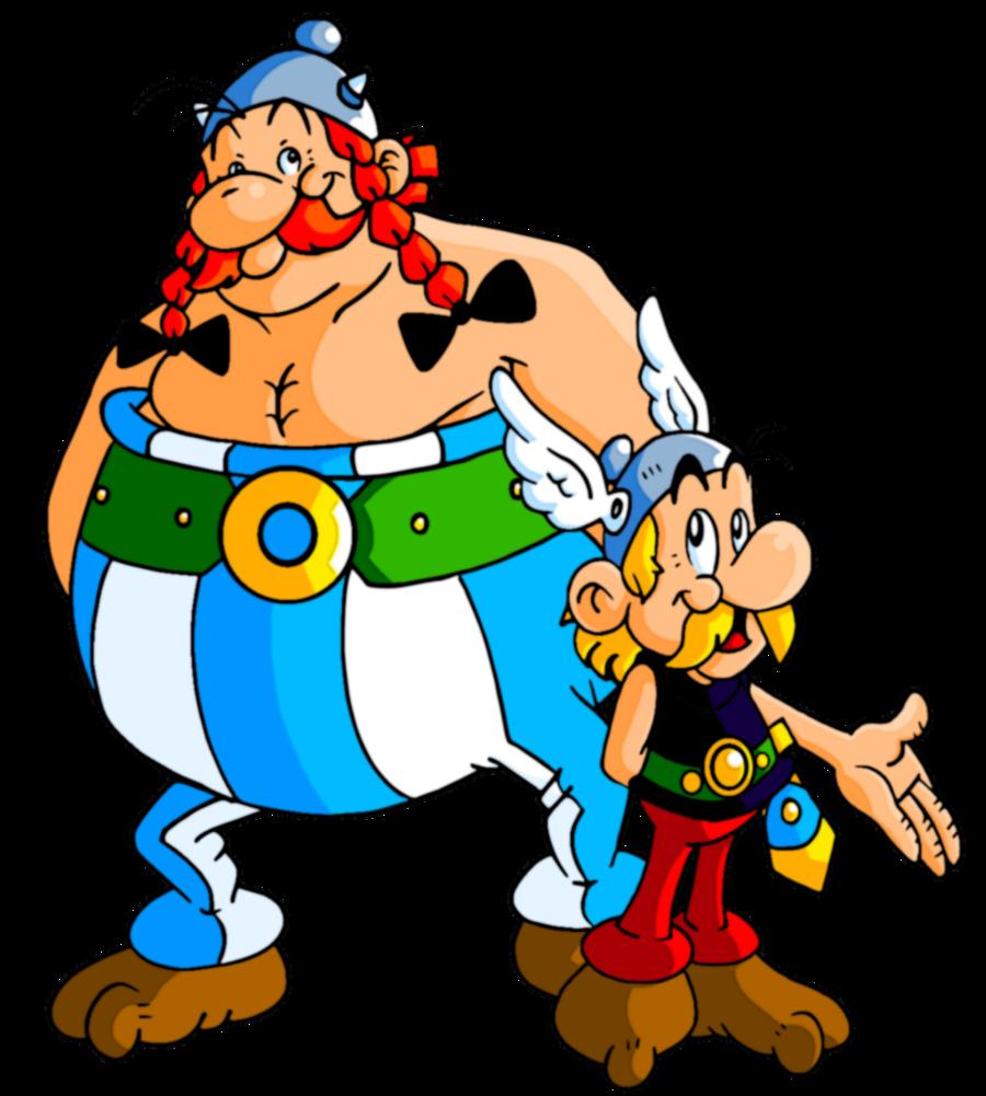 Resultado de imagen de asterix y obelix