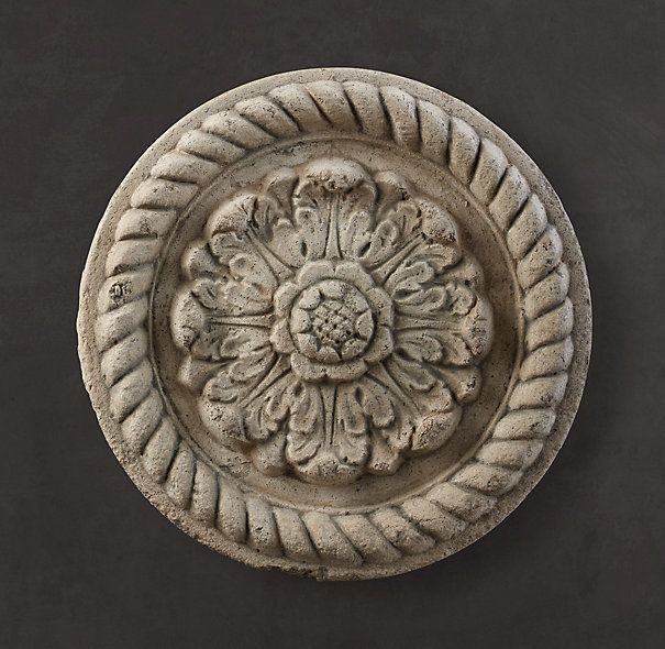 Architectural Wall Decor architectural plaster fragments - rosette | carvings | restoration