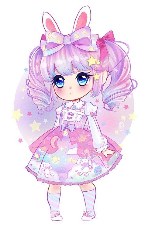 Pin By Falyn On Cute Chibi Anime Kawaii Cute Anime Chibi Cute Animal Drawings Kawaii