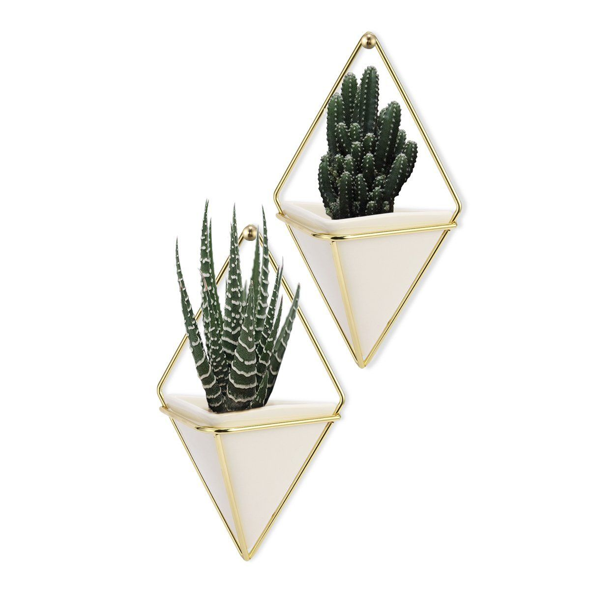 Hanging Container Lanmu Handcrafted Wall Vases Geometric Wall Decor Wall Vase Hanging Plant Hanger For Indoor Outd Hanging Vases Wall Vase Hanging Plant Holder