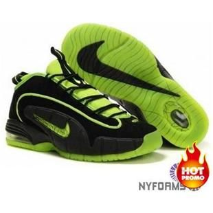 finest selection 35a4a 069a3 Nike Air Max Penny 1 Highlighter Pack Black Electric Green