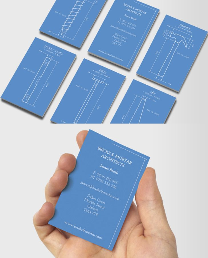 12 Creative Business Cards For Architects Unique Business Cards Design Business Card Design Business Cards Creative