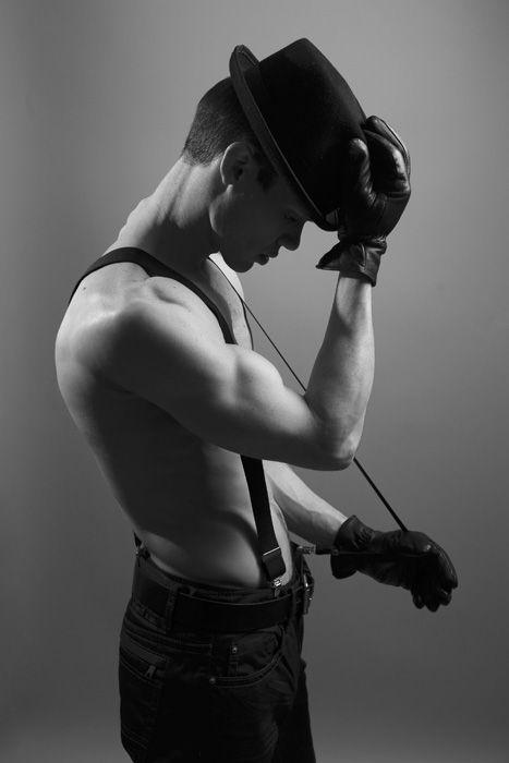 #Malemodel black and white in studio  bly photography....Worthington, Ohio