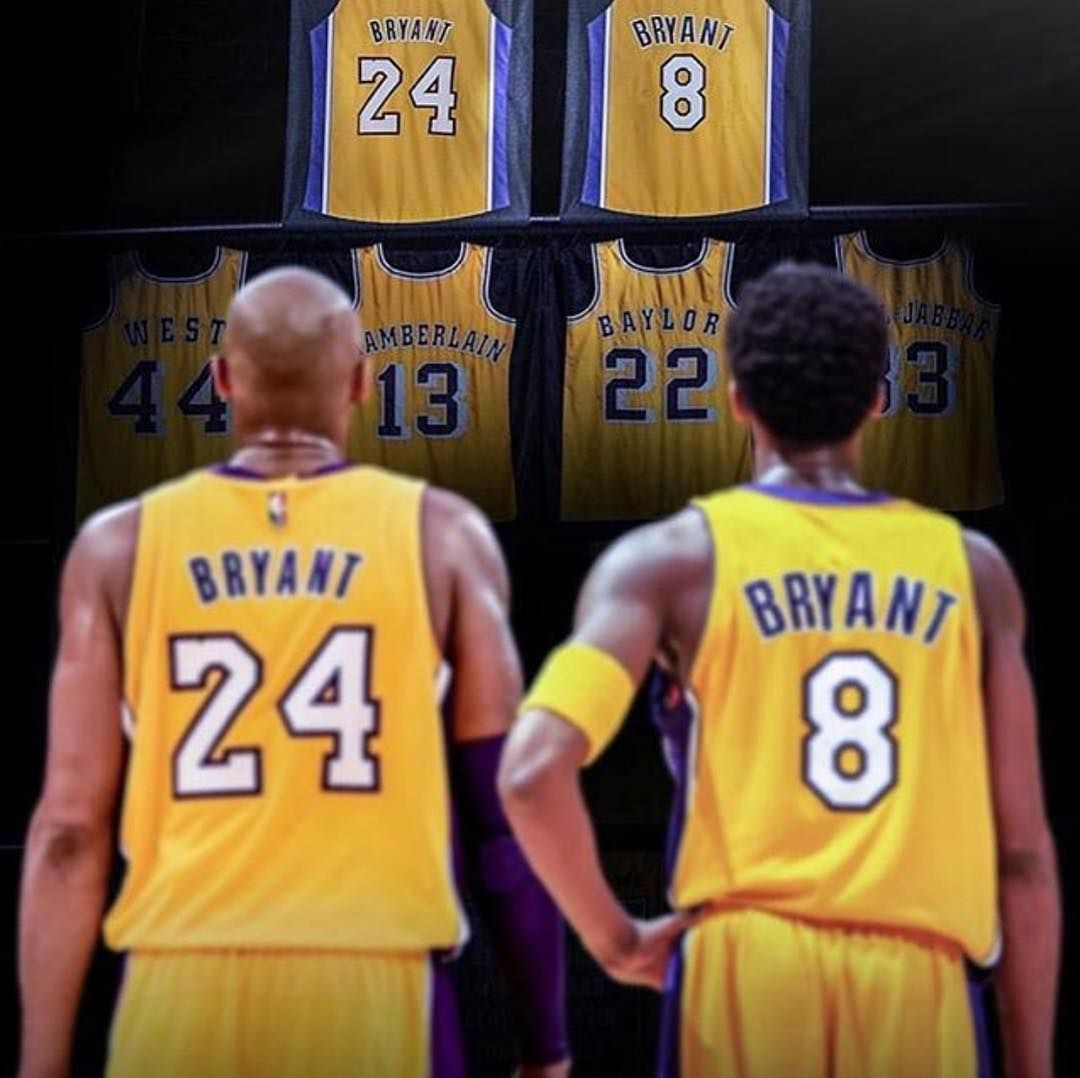 new products da7e4 33906 Kobe It's all about Kobe Bryant's legacy on his jersey ...