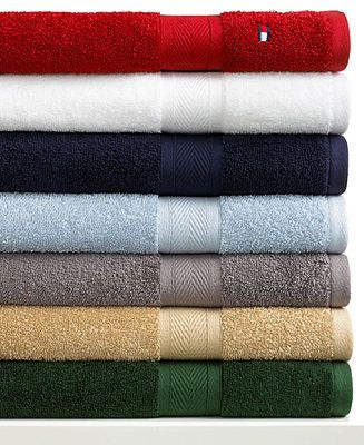 Charisma Bath Towels Prepossessing Tommy Hilfiger All American Bath Towel Collection  Bath Towels Design Ideas