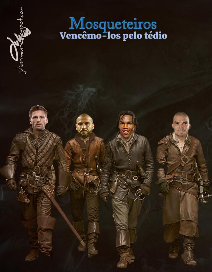 JULIUS   RIMANTE  NEWS: #MOSQUETEIROS