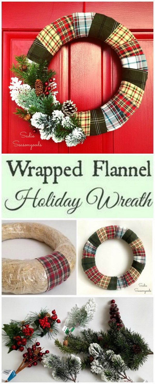 Photo of 30+ Festive DIY Christmas Wreaths with Lots of Tutorials