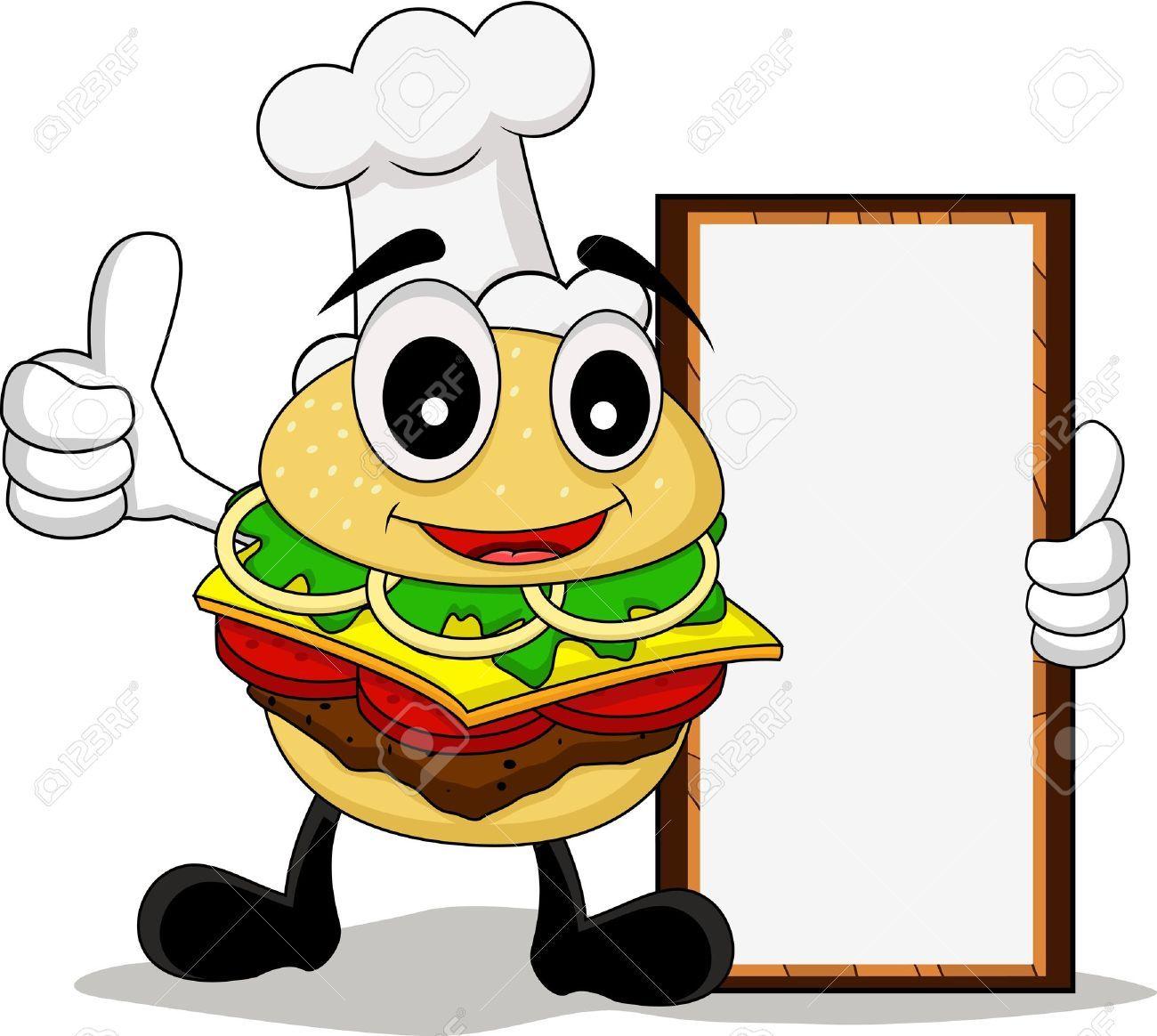 Resultado de imagen para imagenes de hamburguesas de caricatura