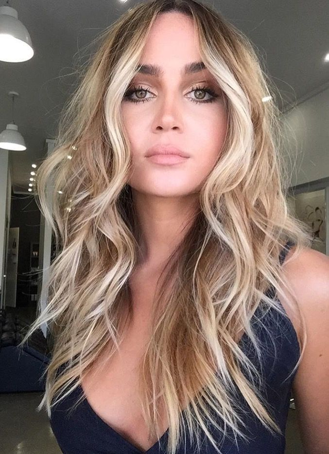 Love the waves! | Beautiful Hairstyles | Pinterest | Hair coloring ...