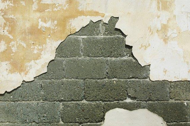 Water Damaged Concrete Block Walls Hunker Old Basement Waterproofing Basement Concrete Block Walls