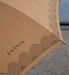 Vintage Lanvin Umbrella!