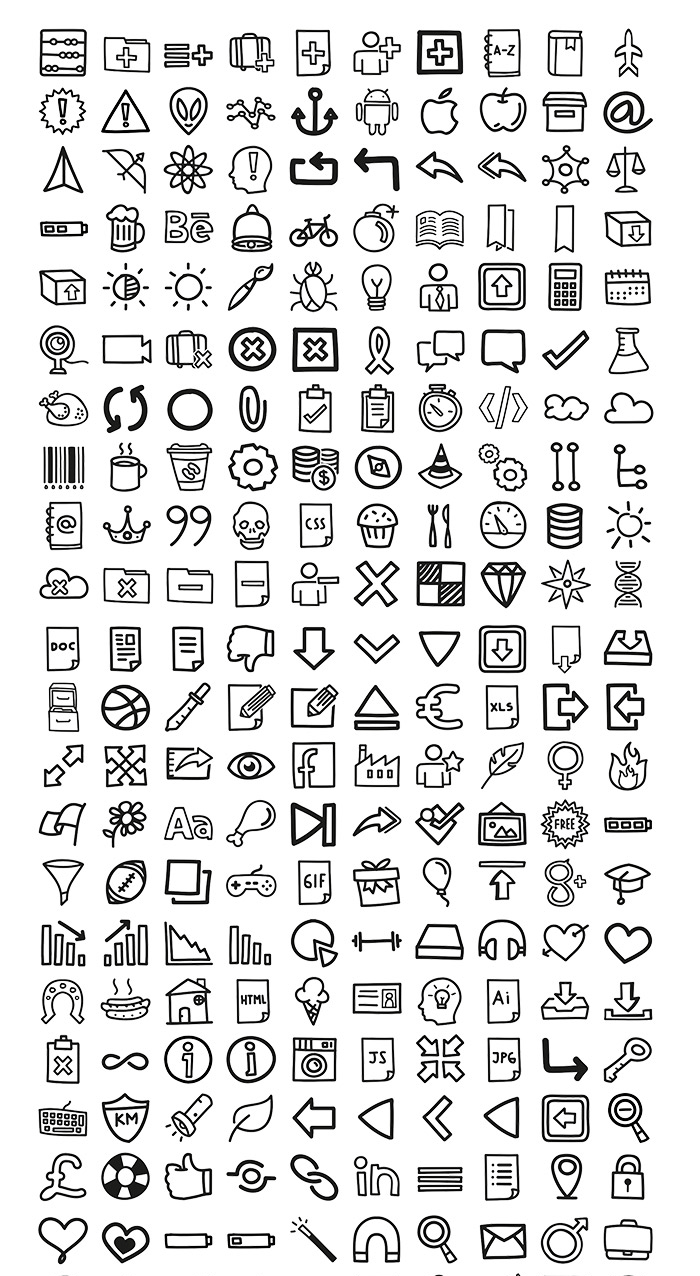 400 Hand Drawn Icons Png 700 1276 Bullet Journal Ideas Pages Bullet Journal Graphics Bullet Journal Mood