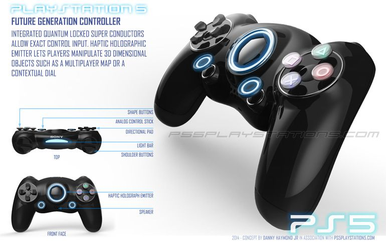 Dualshock 5 Ps5 Controller With Images Playstation