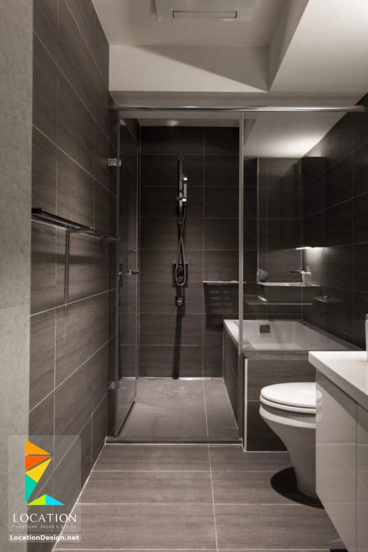 افكار و تصميمات حمامات مودرن صغيرة و بسيطة Bathroom Design Small Modern Best Bathroom Designs Modern Small Bathrooms