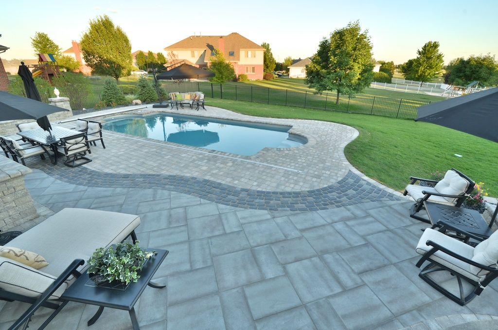 brick paver pool decking paver pool decks are the ultimate
