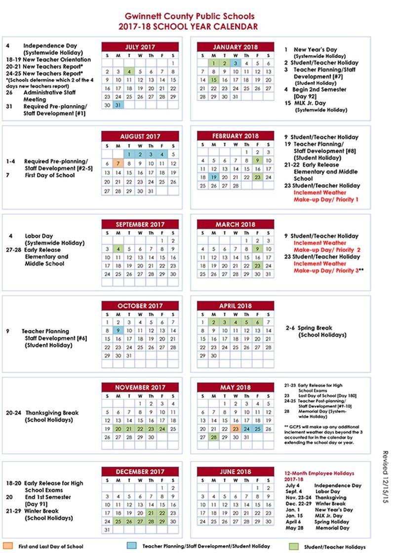 Gwinnett Calendar 2021 Photos