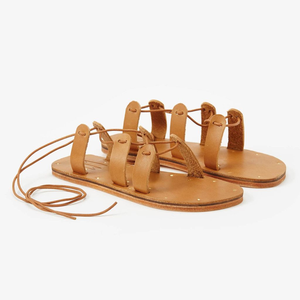 Roman Sandal - Veg Leather Sole - Moc