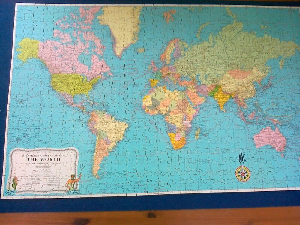 Victory stanford s world map jigsaw puzzle 600 piece hayter co victory stanford s world map jigsaw puzzle 600 piece hayter co wood vintage gumiabroncs Images