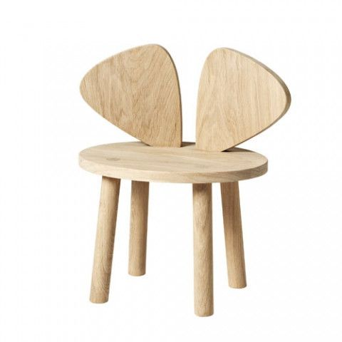 NoFred | Mouse Chair in Oak - Scandikid