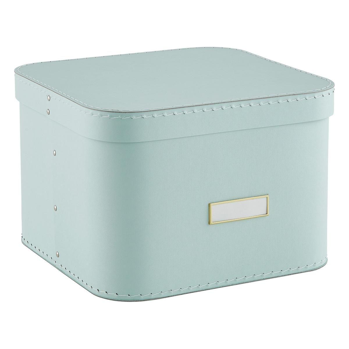 Mint Oskar Storage Box With Lid