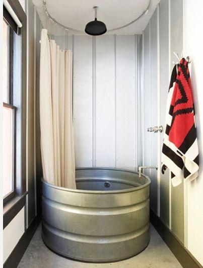 Pin de magda enr quez en caba a tapalpa duchas ba os for Cortinas para banos rusticos