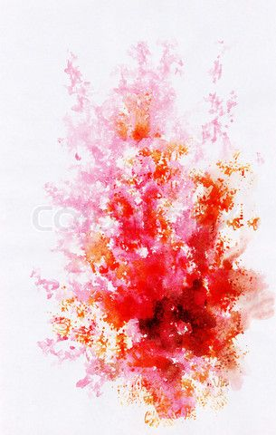 Image Of Abstract Background Watercolor Beautiful Hand Painted