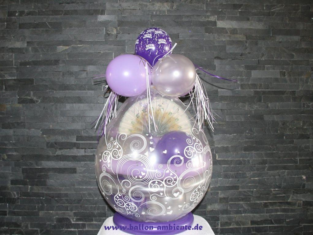 33 genial ballon mit geschenk f llen partydeko ballon dekoration und luftballons. Black Bedroom Furniture Sets. Home Design Ideas