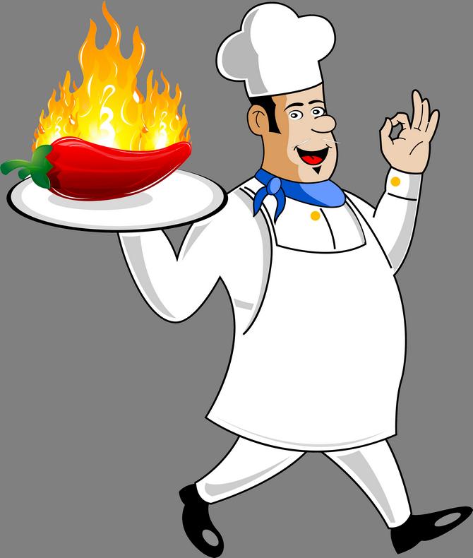 Картинки повар рисунок