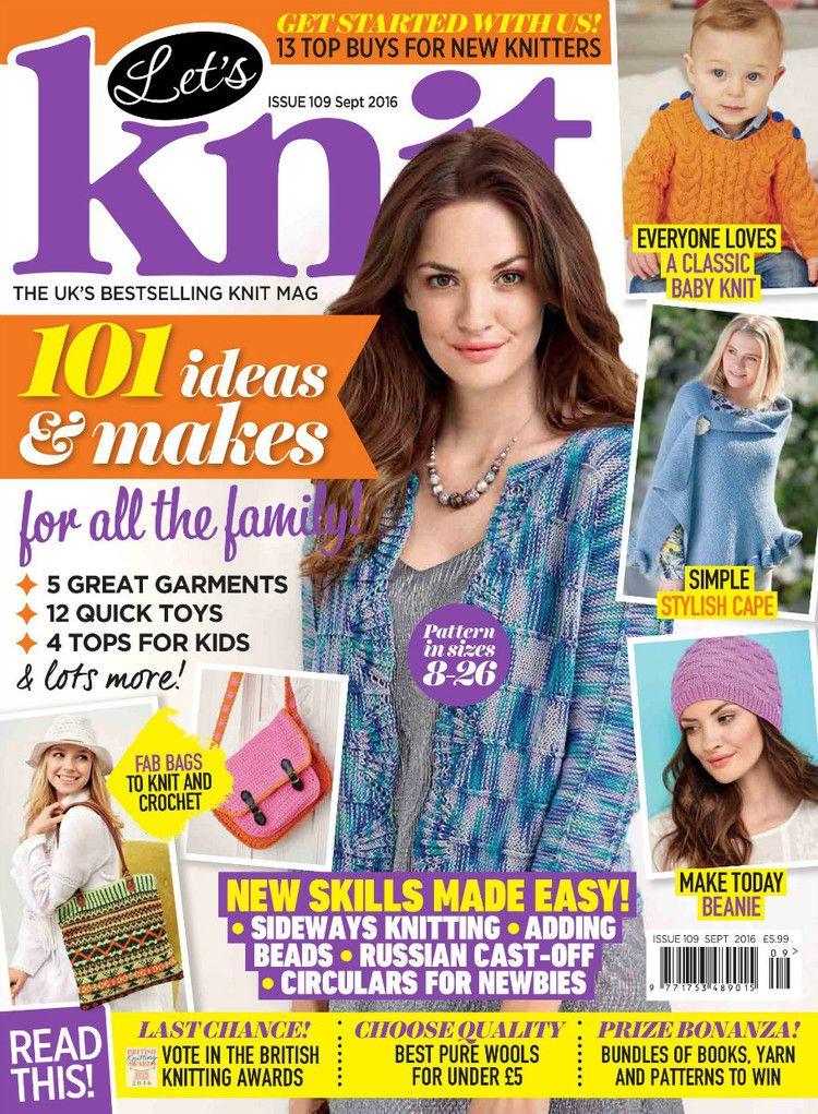 Lets Knit №109 2016 - 轻描淡写 - 轻描淡写 | magazines knit and ...