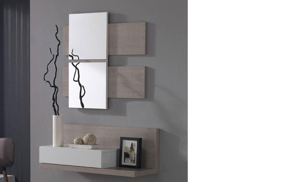 Meuble D Entree Avec Miroir Contemporain Ingres Meuble Entree Entree Moderne Deco Entree Maison