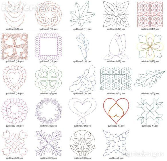 Free Hand Quilting Designs | design machine embroidery free motion ... : free quilting motif patterns - Adamdwight.com