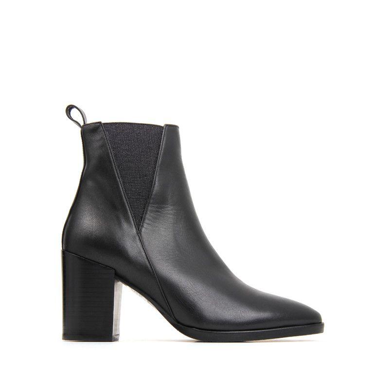 MARTIN NOIR par VEAU JB NAEL Féminine boots excellencela 5R4LAj
