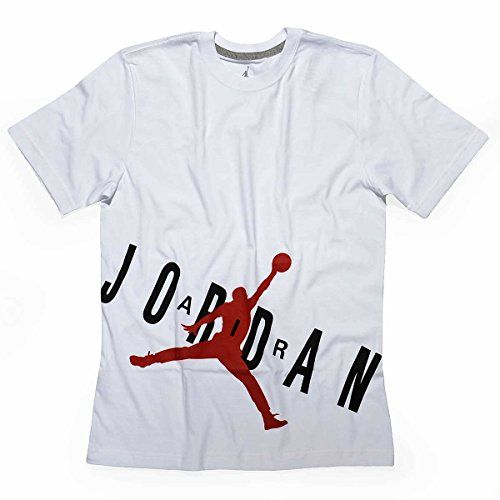 cheap for discount a4110 a1703 NIKE Nike Air Jordan Jumpman Bold Tee In Black Wh Red Athletic T Shirt  Men S Top.  nike  cloth