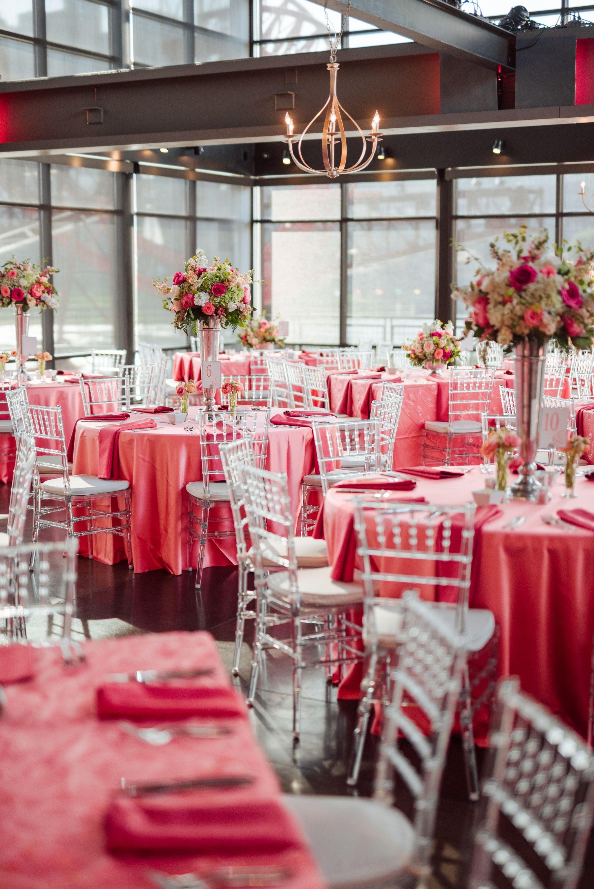 Wedding Reception at The Bridge Building in Nashville Tennessee ...