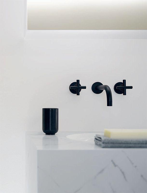 dornbracht grifo llave de lavabo negra bathrooms pinterest lavabo negro y ba os. Black Bedroom Furniture Sets. Home Design Ideas