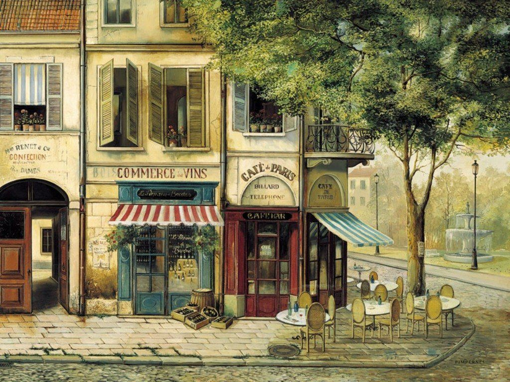 Pimpernel Tischsets - Parisian Scenes - 4er Satz: Amazon.de: Küche ...