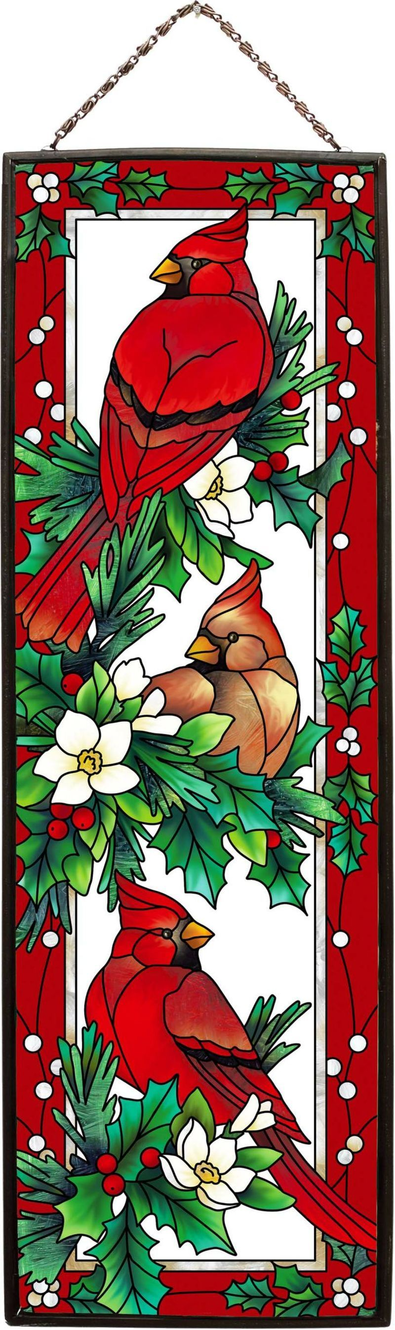 Belles Images Noel Page 2 Stained Glass Christmas Stained Glass Wine Glass Art