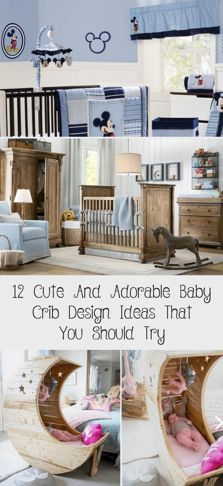 12 Cute And Adorable Baby Crib Design Ideas That You Should Try Babypflege Und Baby