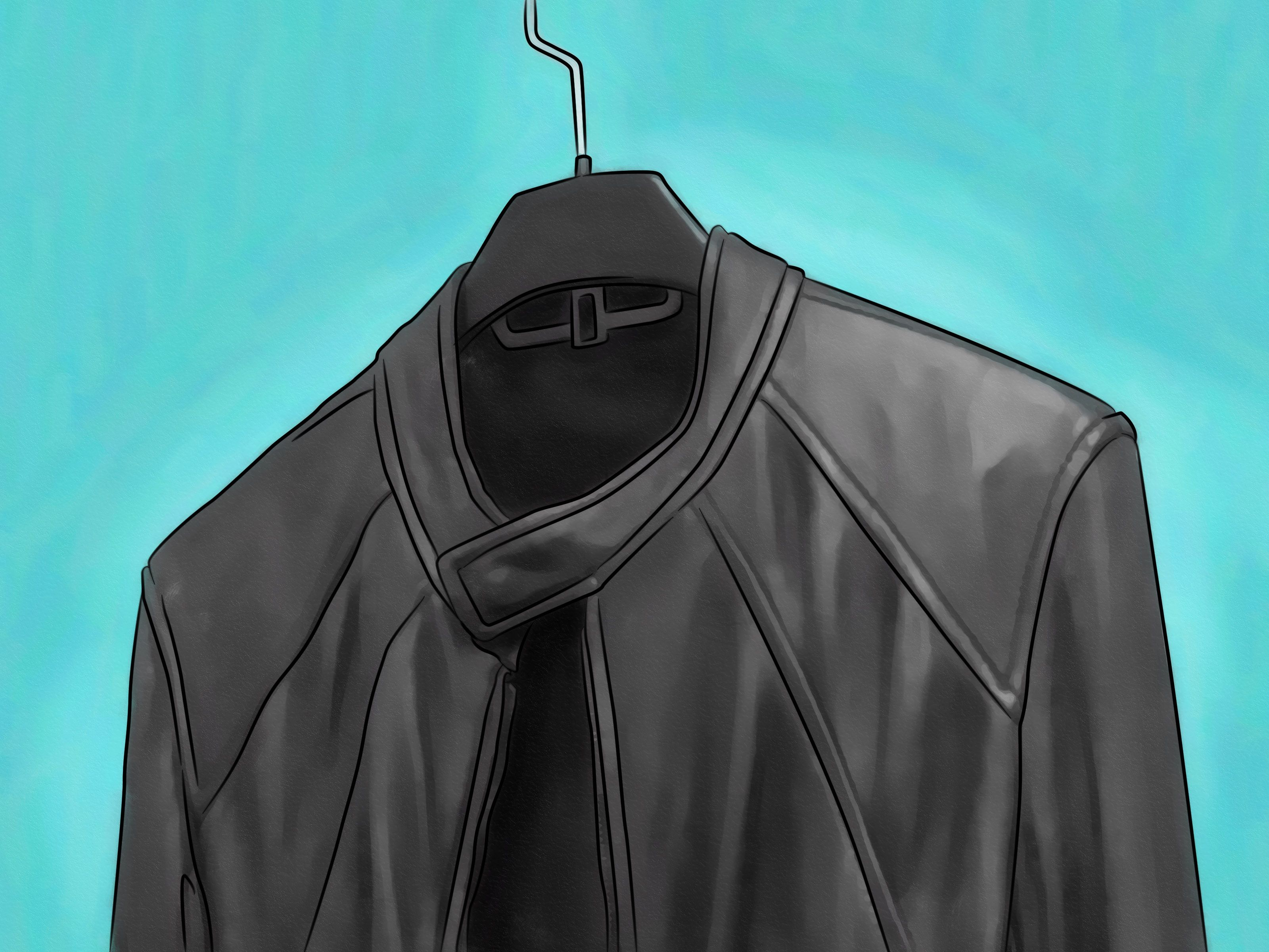Clean a leather jacket leather jacket diy leather