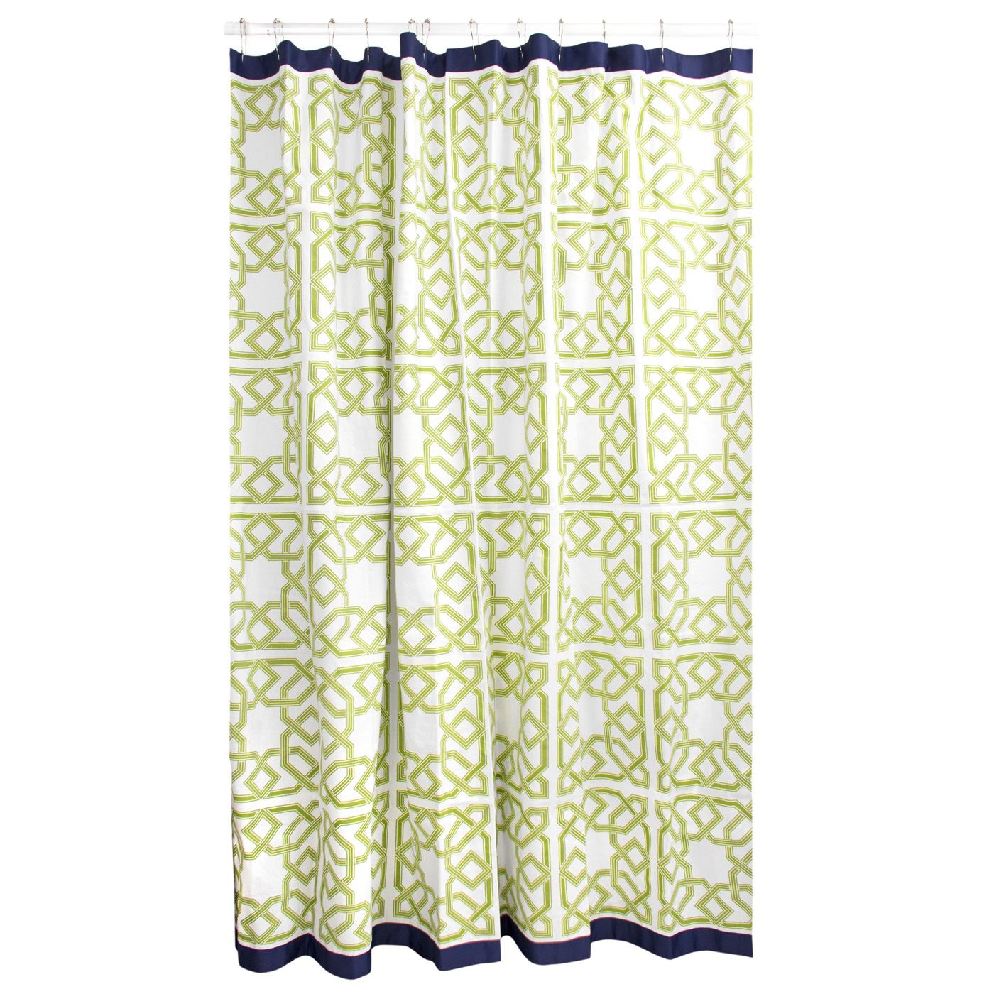 Modern Bath Linens Parish Shower Curtain Jonathan Adler