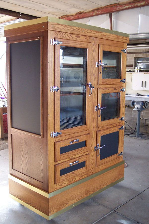 antique vintage refrigerator this would look very nice converted into a wardrobe like cabinet. Black Bedroom Furniture Sets. Home Design Ideas