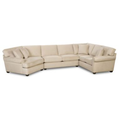 Possibilities Roll Arm 3 Pc Right Arm Sofa Sectional Jcpenney Couch Upholstery Sectional Couch Fabric