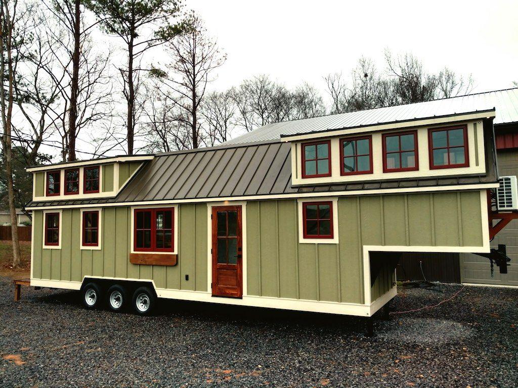 Farmhouse Luxury Gooseneck Tiny House Tiny House Luxury