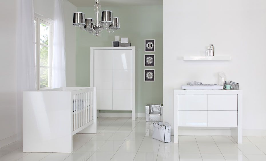 malmo grijs ledikant met lade babykamer pinterest baby nursery furniture kidsmill malmo