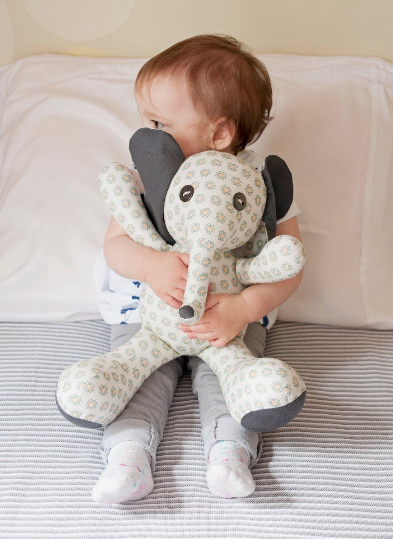 Flora Elephant Stuffed Animal Sewing Pattern Stuffed