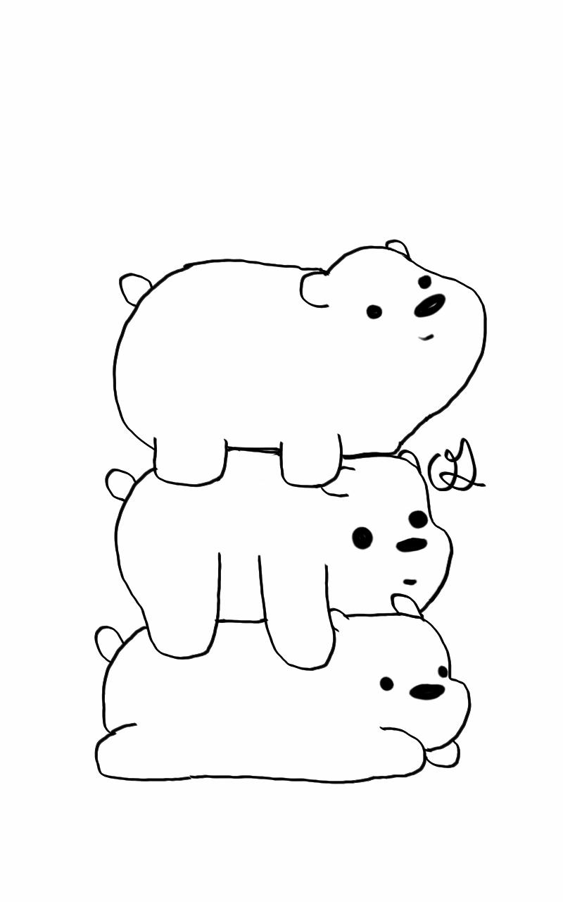 Somos Osos Para Imprimir Oso Para Pintar Dibujos Dibujos De Perros