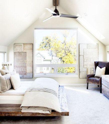Attic Bedroom Accent Wall Home Interior Bedroom Interior