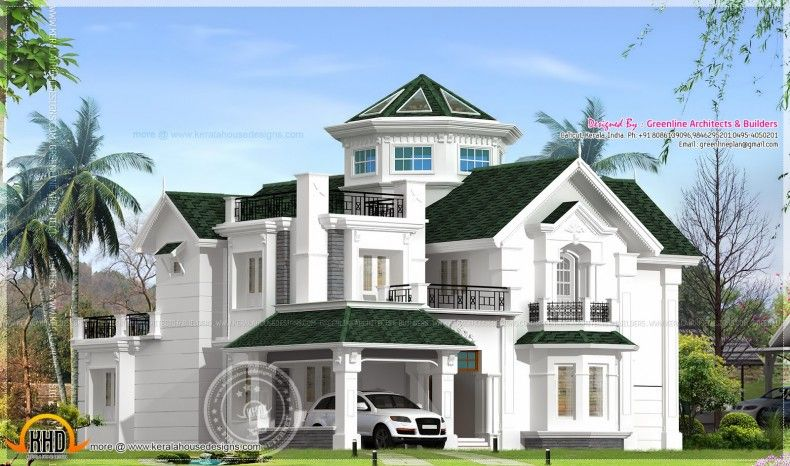 Great Colonial Home Design Style Homes House In Kerala