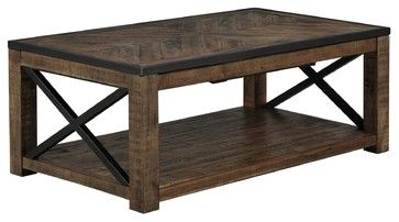 Astounding Tillman Rectangle Lift Top Cocktail Table Rustic Coffee Unemploymentrelief Wooden Chair Designs For Living Room Unemploymentrelieforg