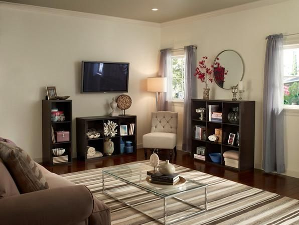 Decorative Storage from ClosetMaid is the perfect accent for the family room.